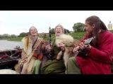 Деревня Бю на дракаре. Легенды норвежских викингов. 2017.