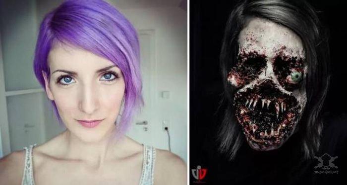 MceFdXfdzp8 - Как отметишь Хэллоуин, такими будут фотографии: идеи грима к празднику