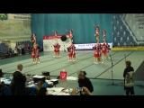 14 мая Общероссийские соревнования по черлидингу. Дисциплина Чир