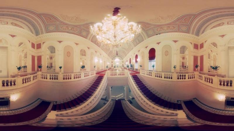 Видео 360- панорамная прогулка по Большому театру