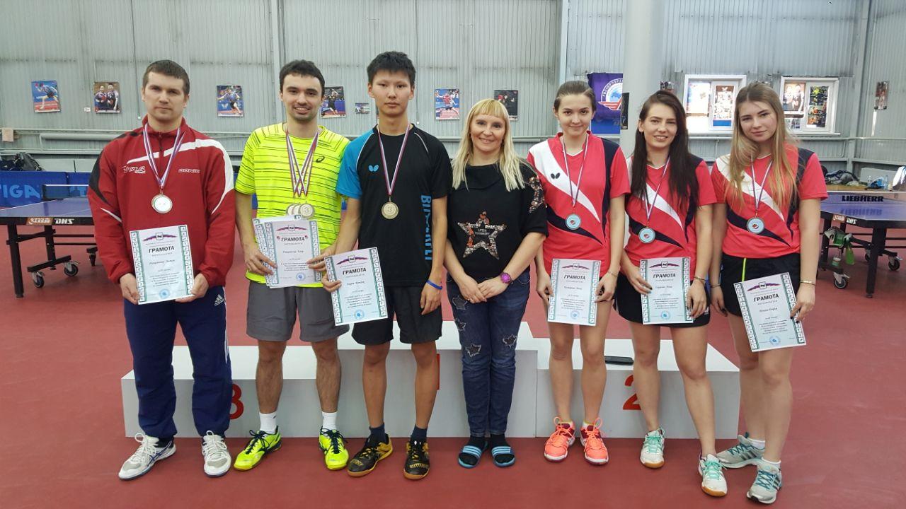 Чемпионат СФО по настольному теннису