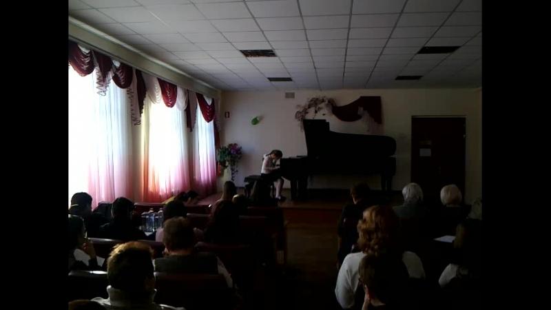 3-е место в городском конкурсе фортепианных дуэтов учащихся образовательных учреждений в сфере культуры и искусств г. Макеевки
