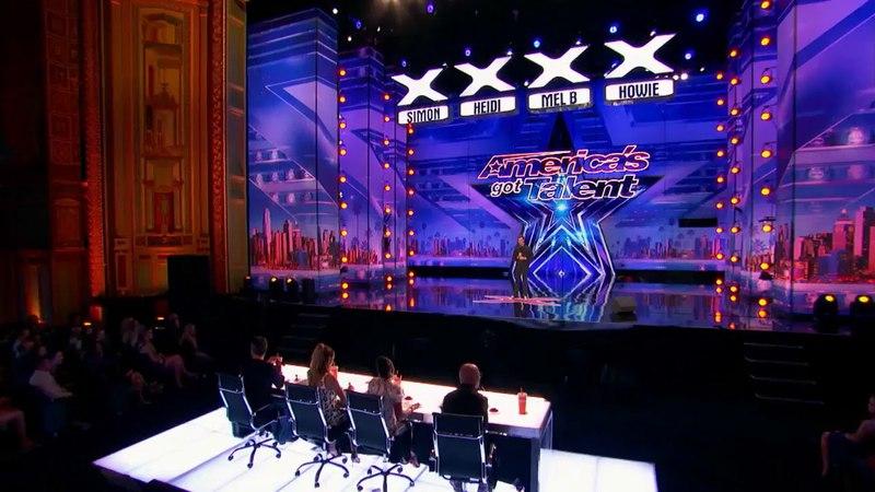 Парень точь-в-точь имитирует все голоса  Шоу талантов Америки