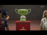 FIFA18 Победа в Супер Кубке Испании против Барсы! Видео Гола C.Ronaldo