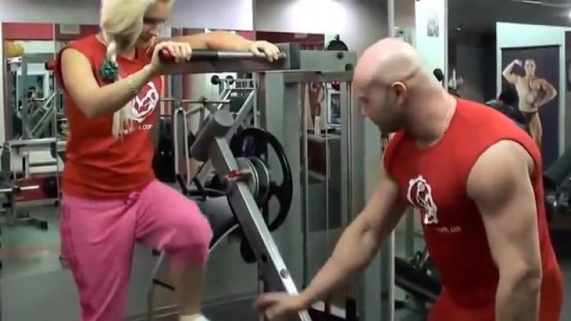 Как накачать бедра и ягодицы Эффективная фитнес методика для девушек