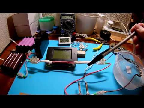 Тест усика 0 4мм на температуру под нагрузкой и на ток плавления