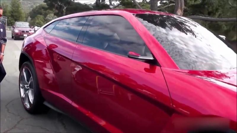 2018 Lamborghini Urus SUV On The Road