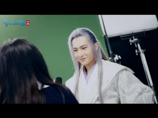 """Yang yang """"a chinese fairy tale"""" mobile game new character bts"""
