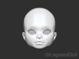 Legrand Doll Custom Mold