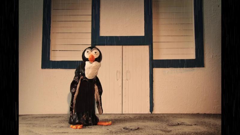 Пожилой пингвин. Пластилин, персонаж и речь (липсинг)