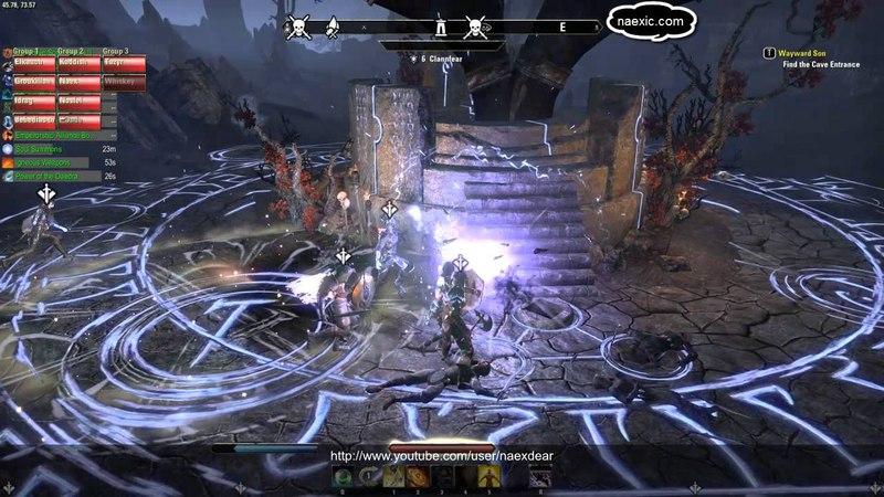 Naex - The Elder Scrolls Online - Clearing The Varanis Dolmen In Stonefalls (Veteran)