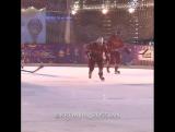 Владимир Путин сыграл в хоккей на Красной площади.