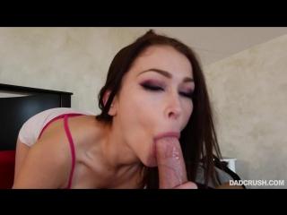 [DadCrush.com] Jennifer Jacobs (Squeezing In My Stepdad / 20.01.2018) [Straight Sex, POV, Blowjob, Doggy Style, Inzest]