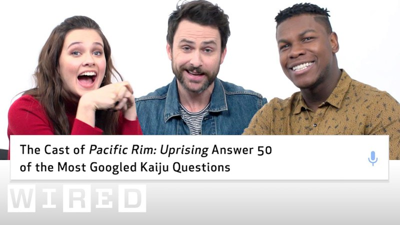 Pacific Rim Uprising Cast Answer the 50 Most Googled Kaiju Questions | WIRED