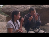 Running Wild with Bear Grylls -Vanessa Hudgens sits down for meal