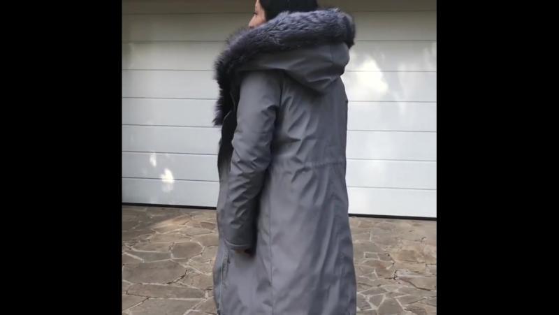 👉Modnica-shop👈 Модная одежда 💓 modnica-shop.com.ua🌸 Парки натуральный мех Опушка чернобурка и енот Внутри на лисе