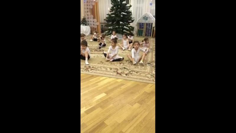 Открытый урок по хореографии младшая группа