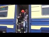 учение пожарников ТЧ-5