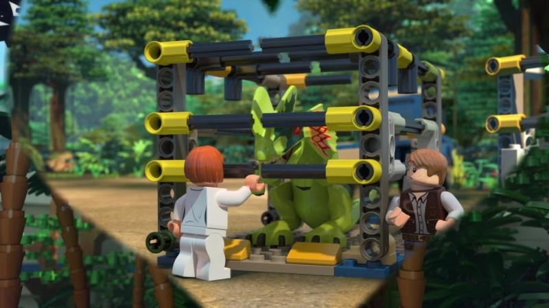 ЛЕГО Мир Юрского периода - Побег Индоминуса - LEGO Jurassic World - The Indominus Escape