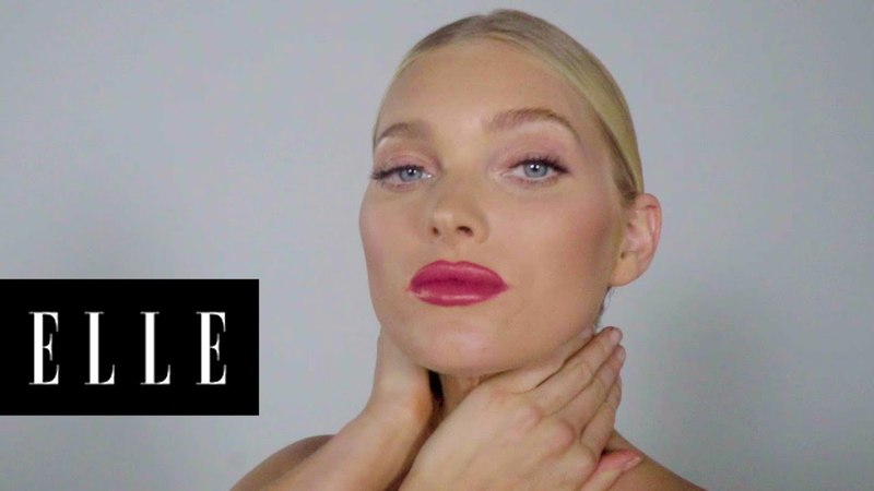 What Elsa Hosk Eats Before Walking the Runway | First Thing With | ELLE