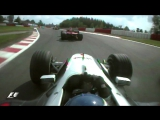 Classic onboard Hakkinens epic pass on Schumacher