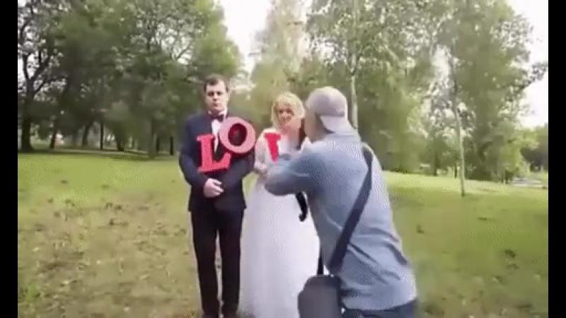 Жених на свадьбе. Как сделать фото