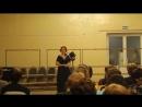 фрагмент концерта посвящённого 60 летию Н Тагильского колледжа искусств Мария Болюх Шуклина