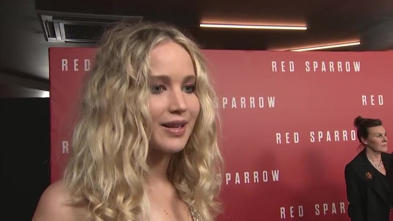 TIME'S UP SPARROW: JenniferLawrence says her latest role in RedSparrow is perfect for right now