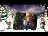 Новогодняя песенка - детское слайд шоу на заказ
