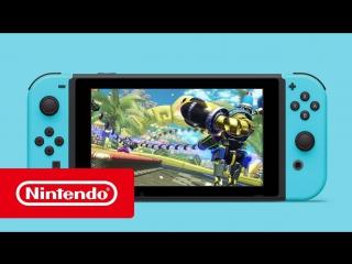 Nintendo Switch — Яркая жизнь (рекламный ролик)