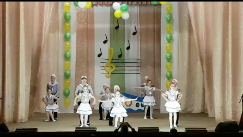 Танец ДШИ Боровлянка