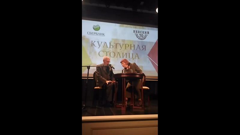 Встреча с Регимантасом Адомайтисом в Доме журналиста Санкт-Петербурга и Ленинградской области