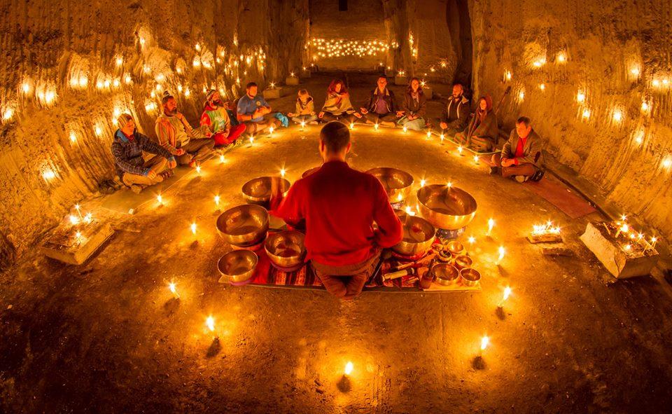 Афиша Калуга Групповая практика тибетскими поющими чашами