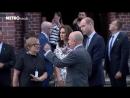 Визит Уильяма и Кэтрин в бывший концлагерь Штуттгоф, 18.07.2017 (Metro.co.uk)