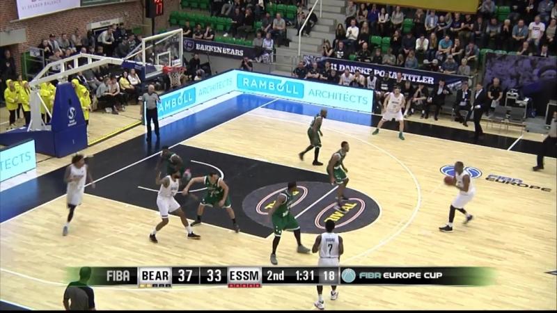 Баккен Беарс - Ле Портель (Еврокубок ФИБА 2017-2018) четвертьфинал