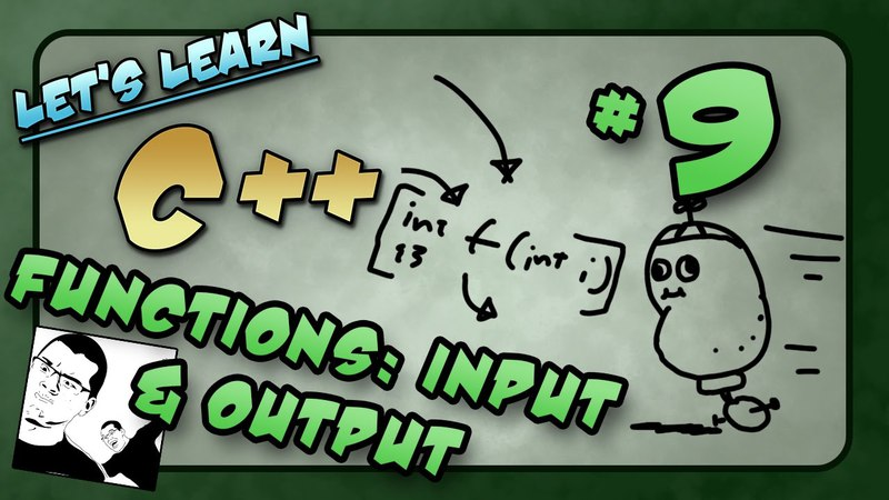 Let's Learn C ~ Basics: 9 of 14 ~ Functions p1: Input, Output, Body