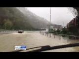 Непогода в Сочи. Курорт местами тонет в дождь. 30.10.17