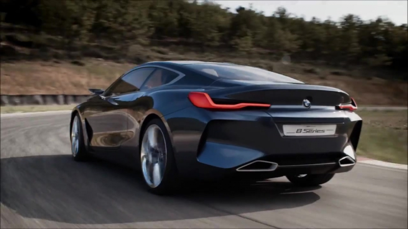 BMW 8 Series - interior Exterior and Drive