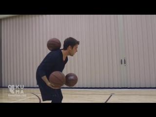 Крутые трюки и жонглирование баскетбольными мячами 🏀