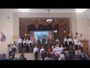 На презентации фильма о гимназии1 во время ВОВ.
