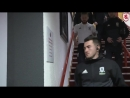 Boro players arrive at the Stadium of Light for the Tees Wear derby