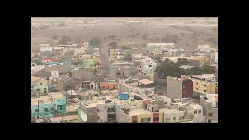 The Espargos Capital of Sal island Cape Verde
