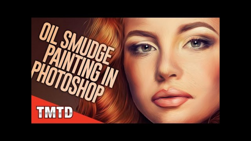 Oil Smudge Painting in Photoshop