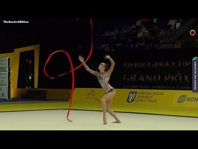 Irina Annenkova ribbon EF 2018 Kiev Deriugina Grand Prix