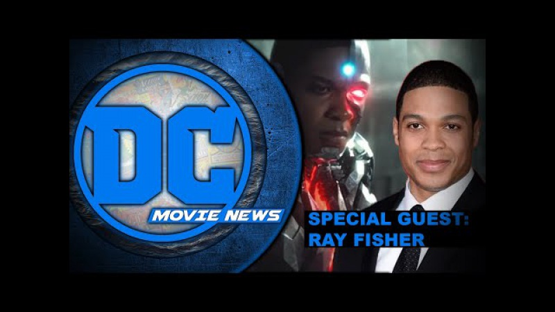 Ray Fisher aka Cyborg in studio to discuss Justice League! - DC Movie News