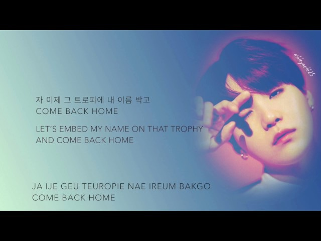 BTS (방탄소년단) - Come Back Home (Seo Taiji 25th Anniversary Remake Project) [Han|Rom|Eng lyrics]