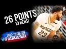 Anthony Davis Full Highlights 2018 3 17 Rockets at Pelicans 26 Pts 13 Rebs FreeDawkins