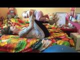 Тренировка с ребёнком дома