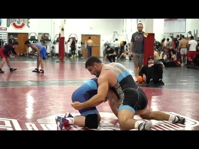 Kyle Snyder vs Taha Akgul- 2 minute Go