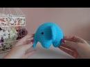 ♥♥ СЛОН крючком ♥ новая игрушка ♥♥